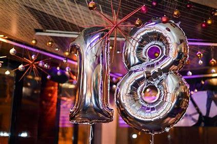 Comment fêter ses 18 ans?